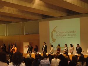 Se inaugura en Granada Congreso Mundial de Mujeres Gitanas