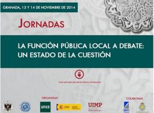 JORNADAS FUNCIÓN PÚBLICA
